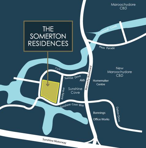 somerton-residences-maroochydore-sunshine-coast-map-3